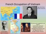 french occupation of vietnam