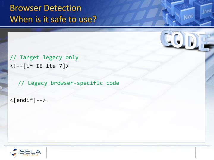 Browser Detection
