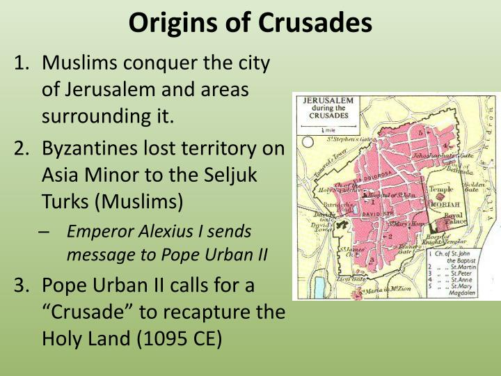 Origins of Crusades
