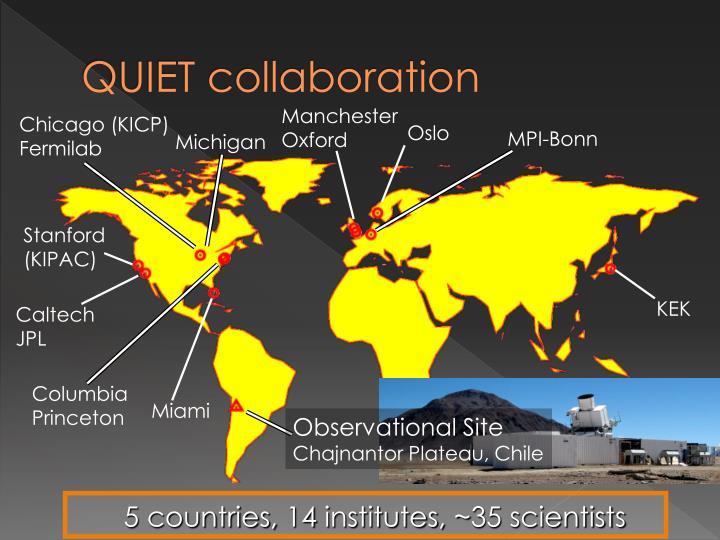 QUIET collaboration