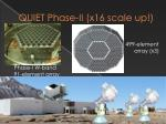 quiet phase ii x16 scale up