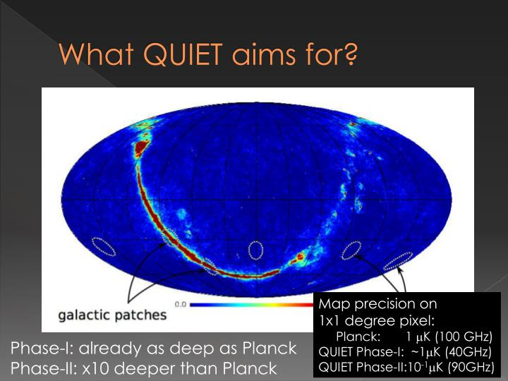 What QUIET aims for?