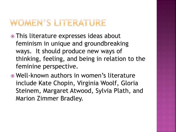 Women's Literature