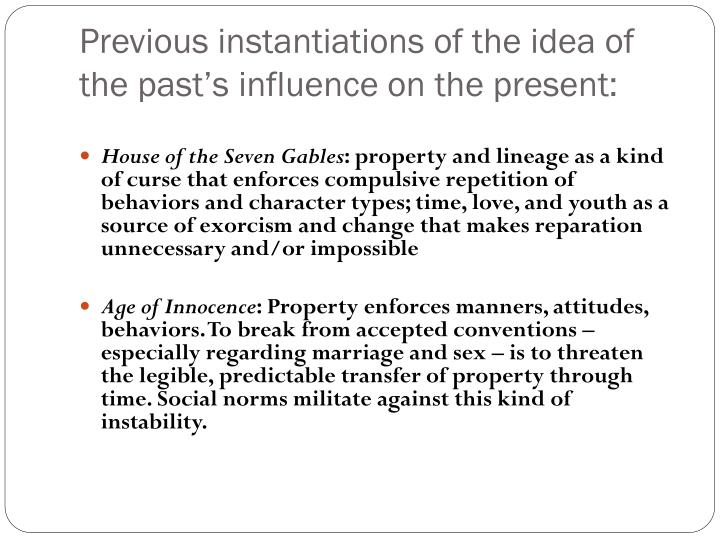 Previous instantiations of the idea of