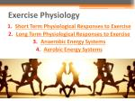 exercise physiology1