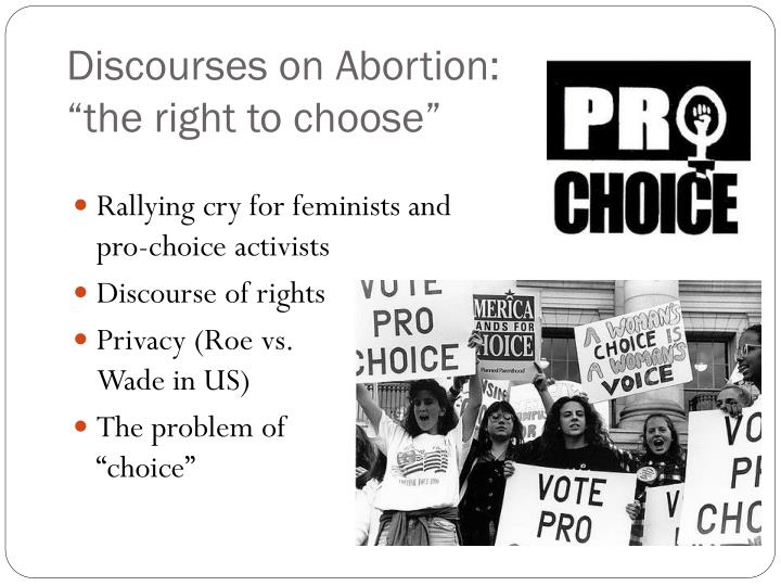 Discourses on Abortion: