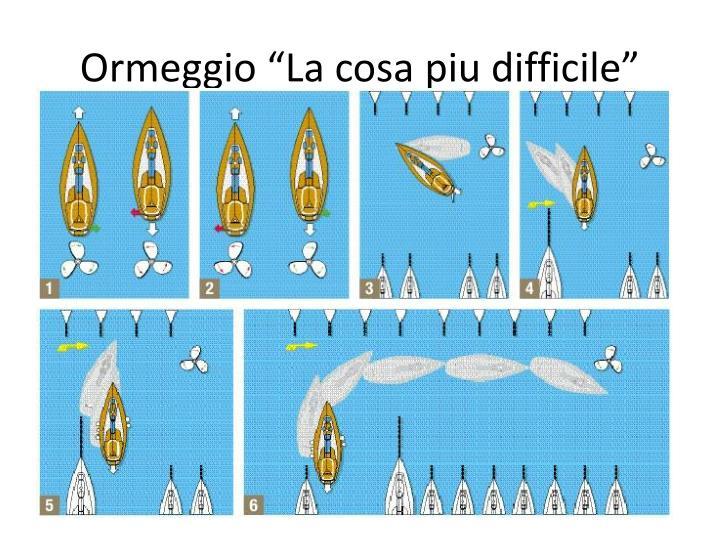 """Ormeggio """"La cosa"""