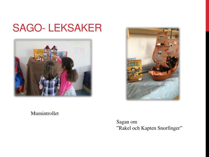 Sago- leksaker