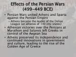 effects of the persian wars 499 449 bce