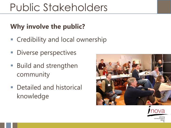 Public Stakeholders