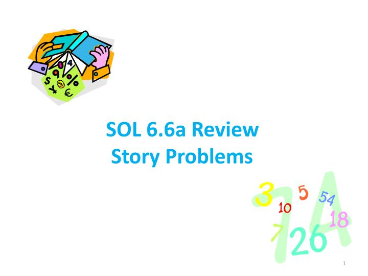 SOL 6.6a Review