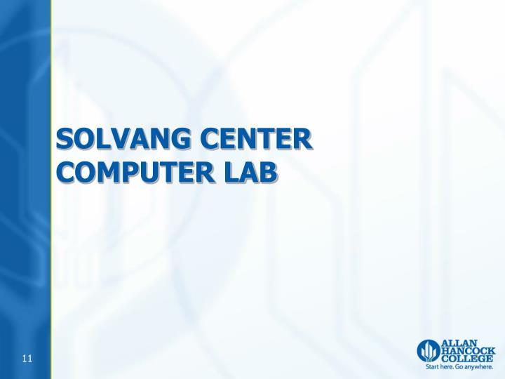 Solvang Center Computer Lab