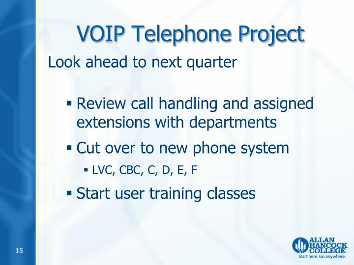 VOIP Telephone Project