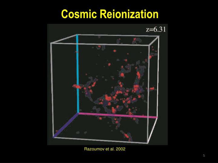 Cosmic Reionization