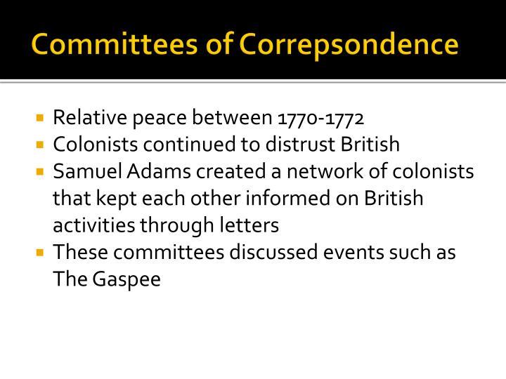 Committees of
