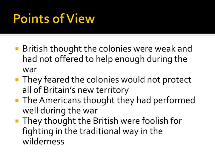 Points of View