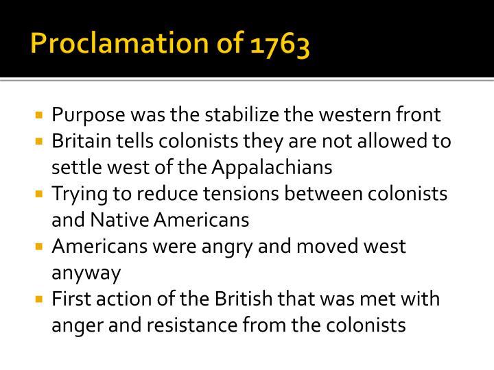 Proclamation of 1763