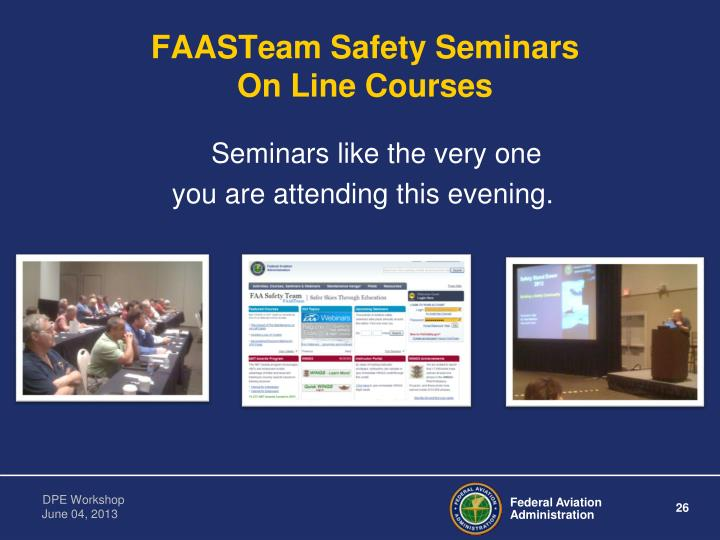 FAASTeam Safety Seminars