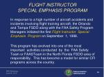 flight instructor special emphasis program1
