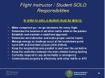 flight instructor student solo responsibilities1