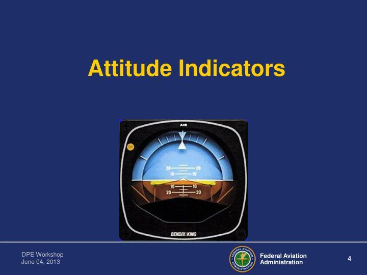 Attitude Indicators