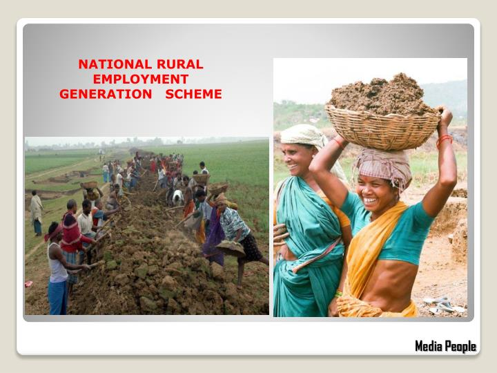 NATIONAL RURAL EMPLOYMENT              GENERATION   SCHEME