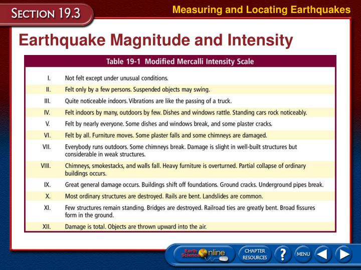 Measuring and Locating Earthquakes