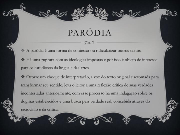 paródia
