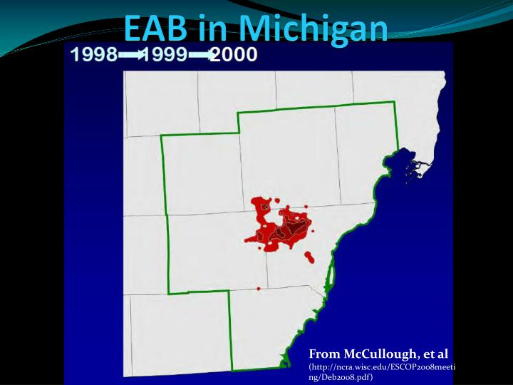 EAB in Michigan