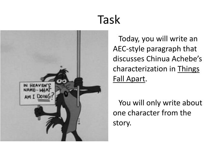 how to write a paragraph ppt