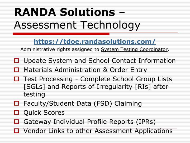 RANDA Solutions