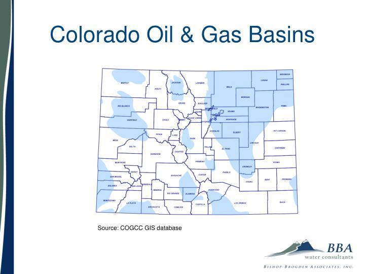 Colorado Oil & Gas Basins