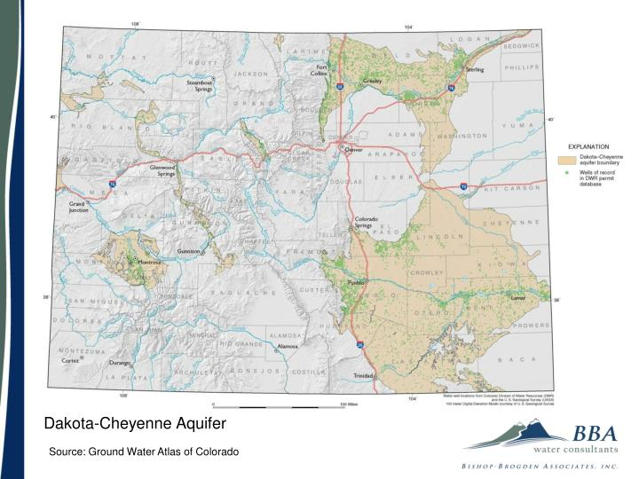 Dakota-Cheyenne Aquifer