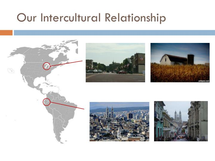 Our intercultural relationship