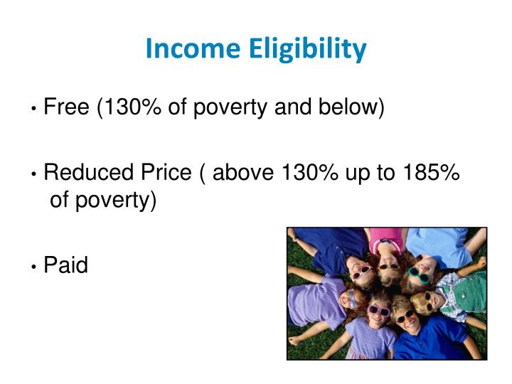 Income Eligibility