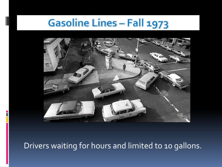 Gasoline Lines – Fall 1973