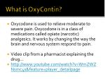 what is oxycontin