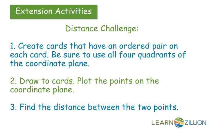 Distance Challenge: