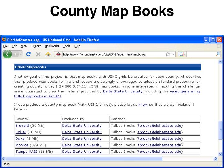 County Map Books