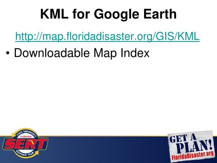 KML for Google Earth