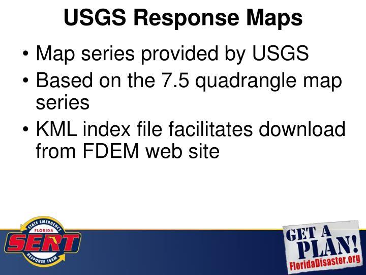USGS Response Maps