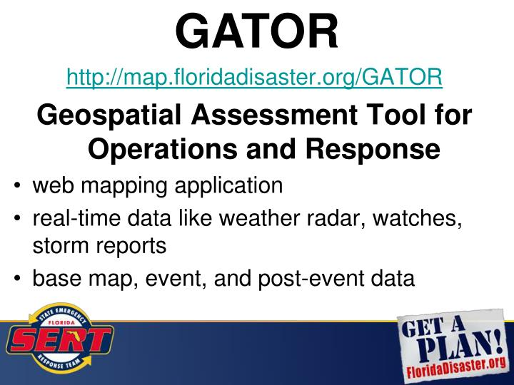 http://map.floridadisaster.org/GATOR
