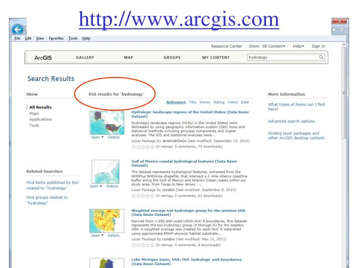 http://www.arcgis.com