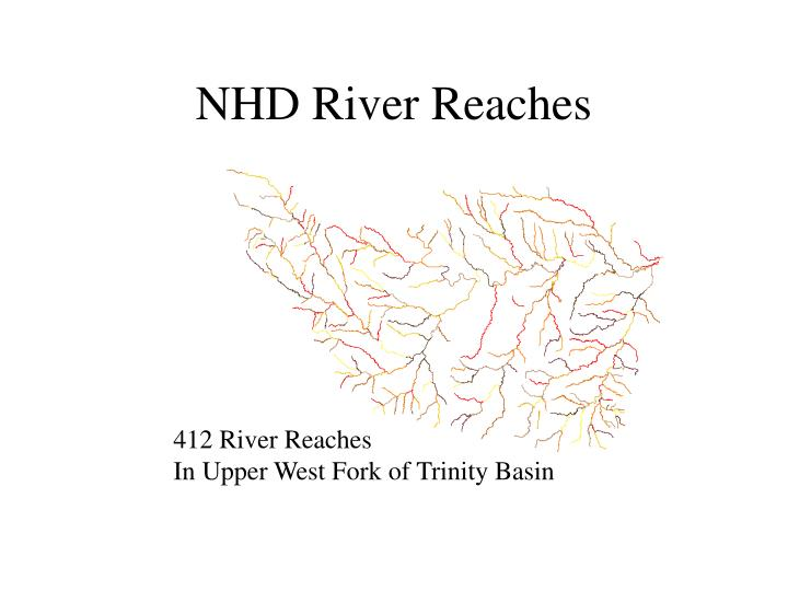 NHD River Reaches