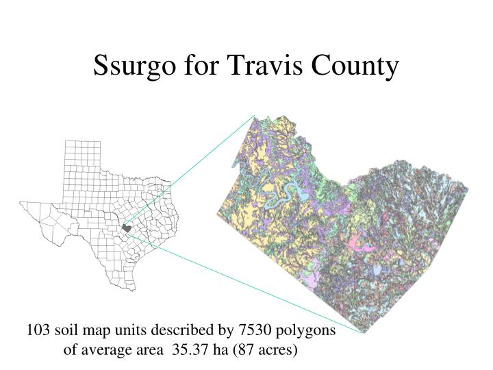 Ssurgo for Travis County
