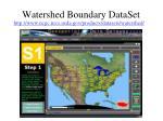 watershed boundary dataset1