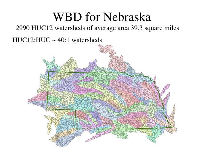 WBD for Nebraska