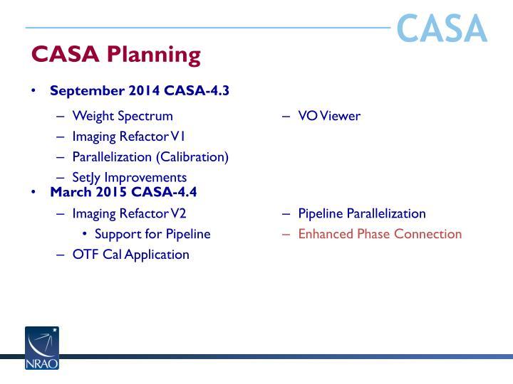 CASA Planning