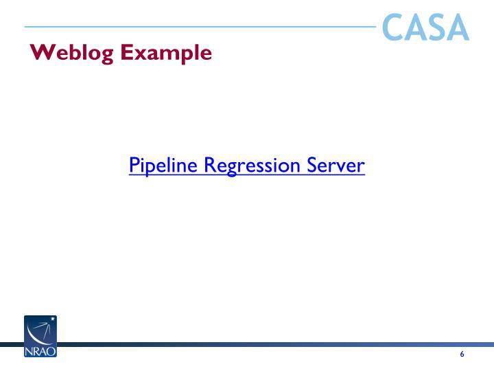 Weblog Example