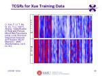 tcgrs for xue training data
